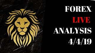 FOREX LIVE ANALYSIS | 4/4/19