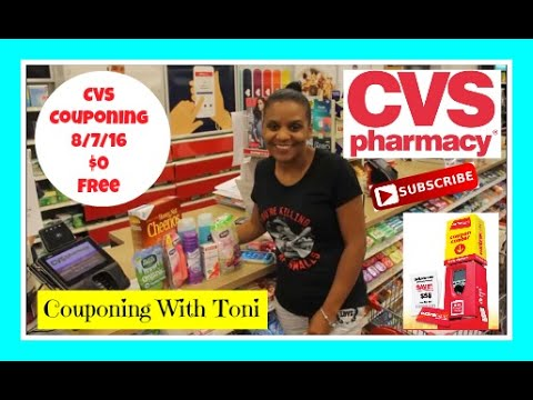 CVS 8/7/16 $0.00 OOP | Couponing on a...