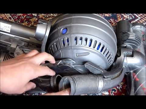 DYSON DC25 FIX LOSS SUCTION (FILTER CLEANING)