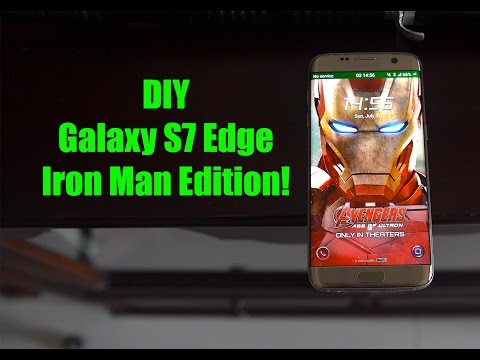 Galaxy S7 Edge Iron Man Edition!