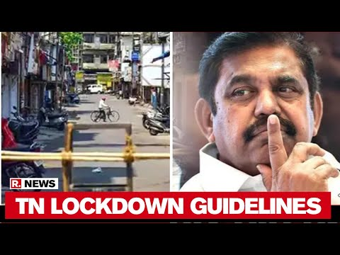 Tamil Nadu Govt Issues Guidelines For Lockdown 5.0