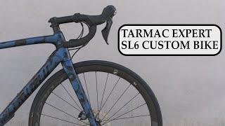 Specialized Tarmac Expert SL6 Custom Bike Build #dreambuildbike #tarmacexpertsl6