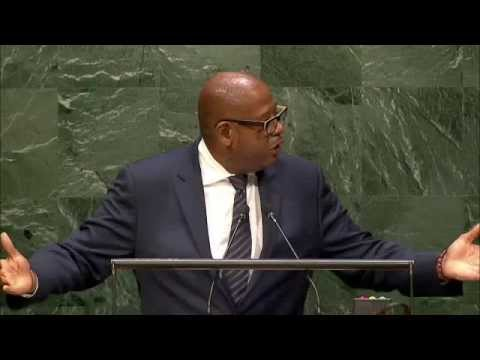 Forest Whitaker at the Fourth World Conference of Speakers of ...
