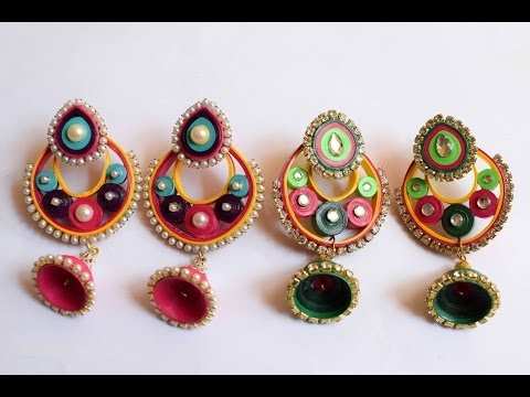 Quilled Earrings/ Quilled Jhumka