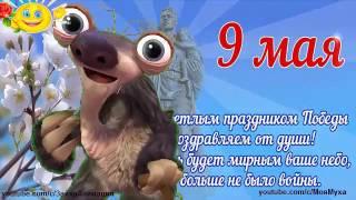 ZOOBE зайка Поздравление с 9 Мая для Внуков Заговор  на Здоровье Бабушки и Дедушки