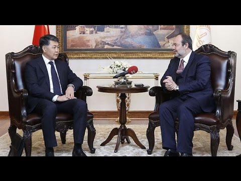 Kazakistan Din ve Sivil Toplum İşleri Bakan Yardımcısı Sakbayuly'dan Diyanet'e ziyaret