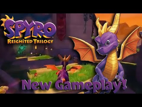 NEW SPYRO FOOTAGE - Town Square, Peace Keepers and Stone Hill!