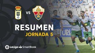 Resumen de Real Oviedo vs Elche CF (0-2)