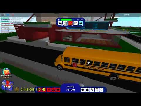 Roblox rocitizens how to own the school bus