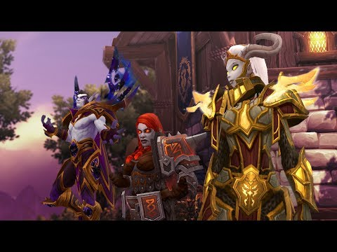 Alliance Questing in Horde Zones - Battle for Azeroth Alpha [Stream Highlight]