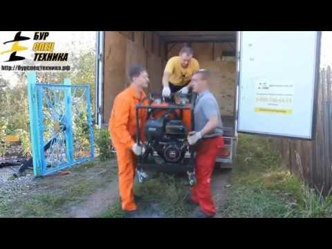 """Реальное бурение на установке GBU-15LP от компании """"БурСпецТехника"""""""