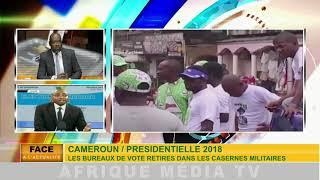 CAMEROUN / PRÉSIDENTIELLE 2018 : les bureaux de vote retirés dans les casernes militaires.