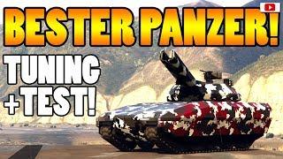 🚘🛠Bester Panzer TM-02 KHANJALI Tuning + Test!🛠🚘 [GTA 5 Online Doomsday Heist Update DLC]