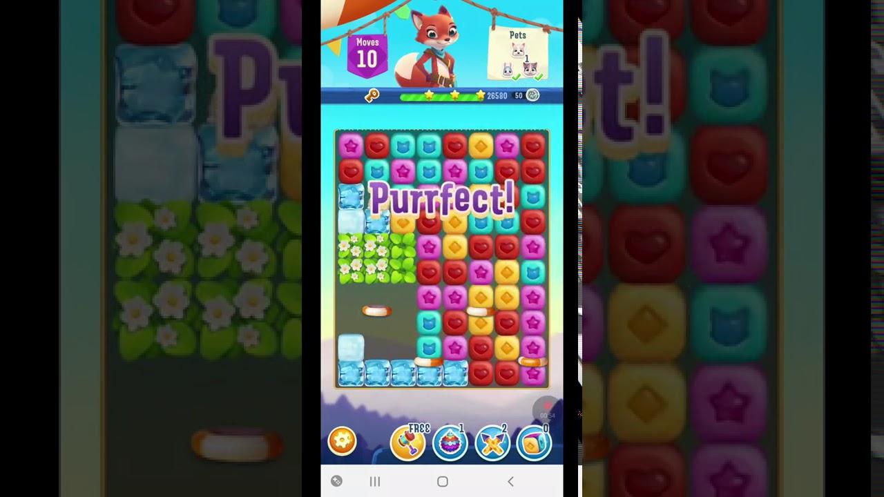 Pet Rescue Puzzle Saga Level 889 ~ No Boosters