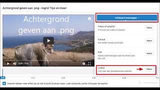 YouTube tip: Kaarten. Klikbare links in je video - Ingrid Tips en meer
