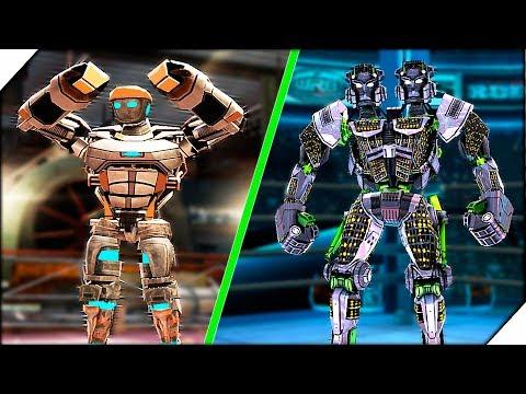 ЖЕЛЕЗНЫЙ УДАР АТОМА - Игра Real Steel World Robot Boxing прохождение # 2 Живая сталь игра.