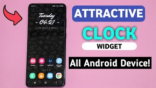 Best Clock Widget For All Android Devices - Make It Mine screenshot 1