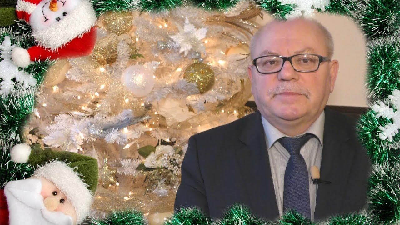 Mirosław Czapla, Starosta Powiatu Malborskiego składa życzenia świąteczno – noworoczne – 22.12.2017