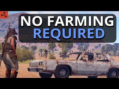 NO Farming Is Required Today!! Rust Survival Gameplay