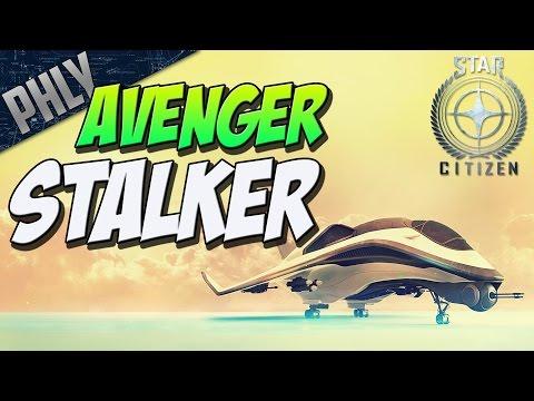 STAR CITIZEN - Avenger Stalker Showcase (Star Citizen First Impressions)