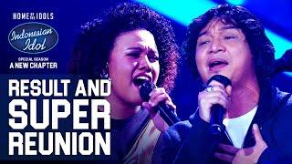 JEMIMAH X UNGU - CINTA DALAM HATI - RESULT & REUNION - Indonesian Idol 2021