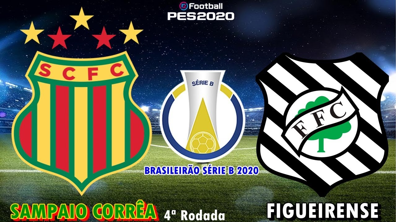 Pes 2020 Sampaio Correa X Figueirense Brasileirao Serie B 2020 Gameplay Ps4 Youtube