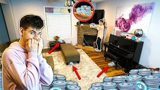 MYSTERY VBUCKS HUNT HIDE AND SEEK CHALLENGE (Fortnite)