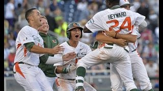 Miami Hurricanes Baseball - Road to Omaha ᴴᴰ