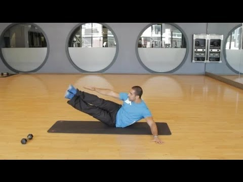 Oblique Leg Lift Exercise : Stretching & Lifts For Fitness