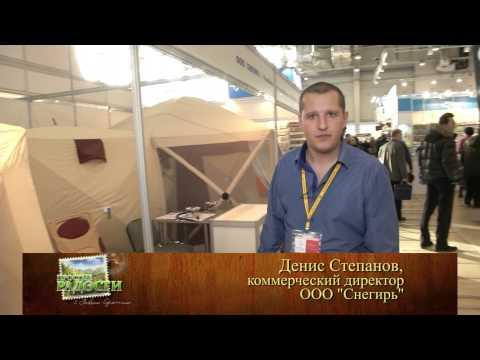 Пол для зимних палаток ПИНГВИН Призма. Видео из игры