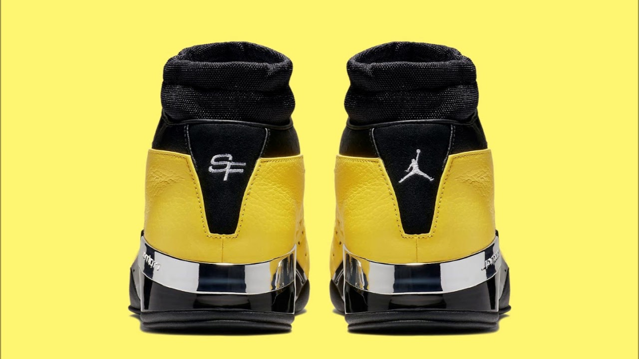 21a9e865b31e Solefly x Air Jordan 17 Lows Release Feb 16 The  Lightning  Low  collaboration honors MJ s original