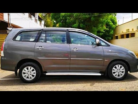 Toyota Innova Second Hand Car Sale In Tamil Nadu