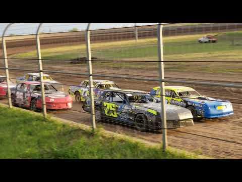 5-4-19 Junction Motor Speedway Stock Car Heat Kyle Dumpert