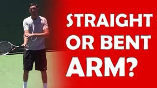 Straight or Bent Arm? | CONTACT POINT