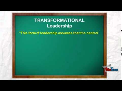 Video: Educational Leadership Theories and Models