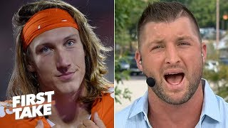 tim-tebow-trevor-lawrence-isn-t-in-the-heisman-trophy-race-with-clemson-s-bad-schedule-first-take