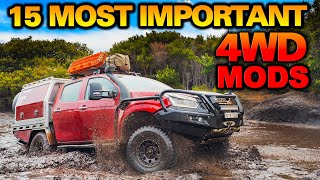 ULTIMATE DUAL CAB UTE MOD GUIDE – How We Built Graham's D-MAX to Drive ANY Track – 30 Expert Tips!