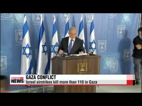 Israel airstrikes kill more than 110 in Gaza