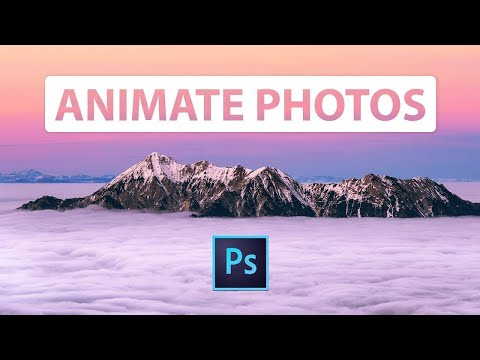 How To ANIMATE A Still Photo In Adobe Photoshop