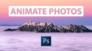 Wie zu ANIMIEREN, ein Foto in Adobe Photoshop