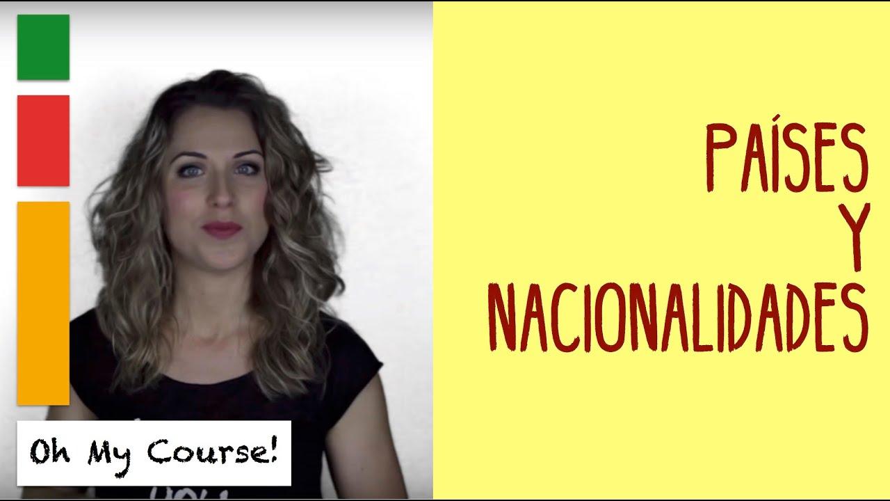 Paises Y Nacionalidades En Ingles Pronunciacion Como Decir De Donde Eres Youtube
