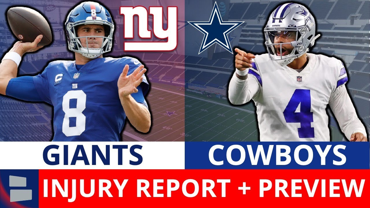 Giants vs. Cowboys: Statistics, numbers and broken records