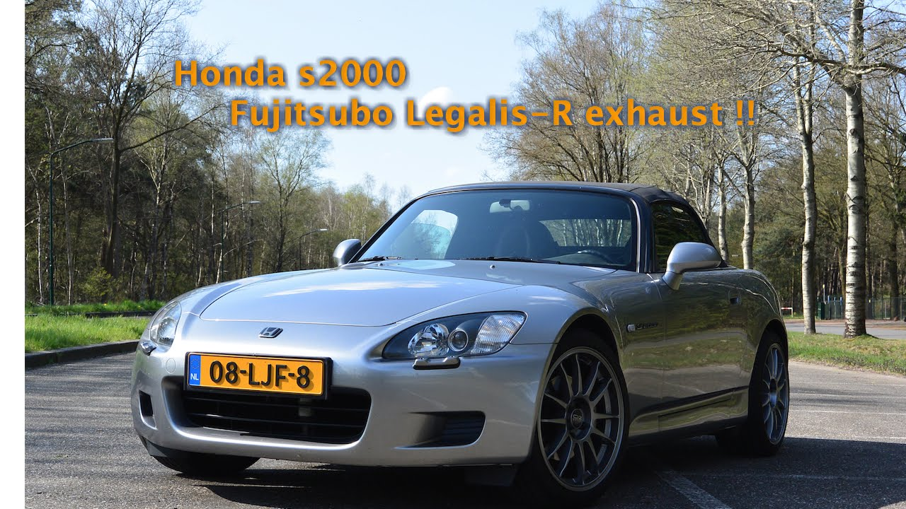 Honda s2000 Exhaust sound with Fujitsubo Legalis R exhaust