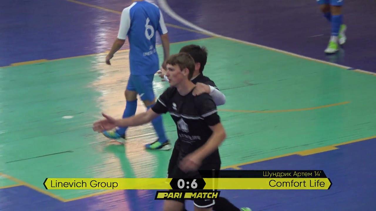 Огляд матчу   Linevich Group 2 : 8 Comfort Life   Parimatch Preseason cup 2021