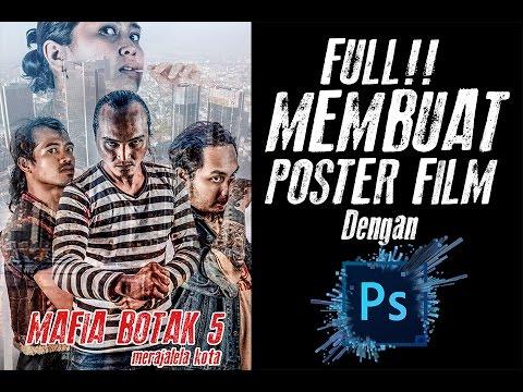 Full Videocara Membuat Poster Film Menggunakan Photoshop