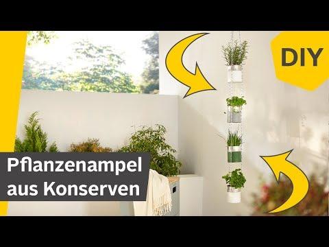 DIY: Blumenampel/Pflanzenampel aus Konserven selber machen | Roombeez – powered by OTTO