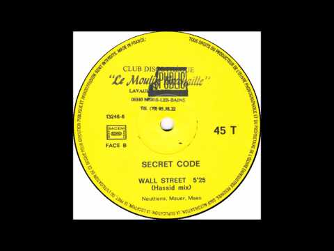 Secret Code - Wall Street ((Hassid Mix) - 1988