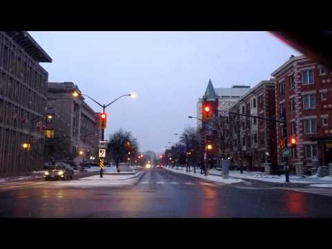 London Ontario Downtown. 2013 Xmas Eve. Temp -10°.