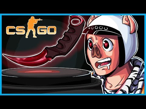 HOW TO TURN $10 INTO A KNIFE! - CS:GO Funny Case Opening! (CS:GO Knife Unboxing)