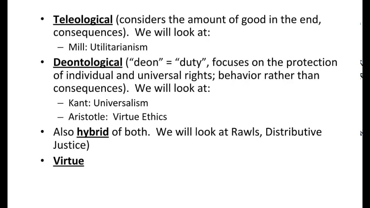 understanding the teleological theory of ethics Types of ethical theory[3]  broad points out that on this understanding of the distinction between 'deontological ethics' and 'teleological ethics', not all utilitarians are telelogists: 'utilitarianism, in some of its forms, would be an example of [teleological ethics] but [henry] sidgwick.